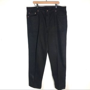 Levi's mens 560 black jeans made in USA cotton